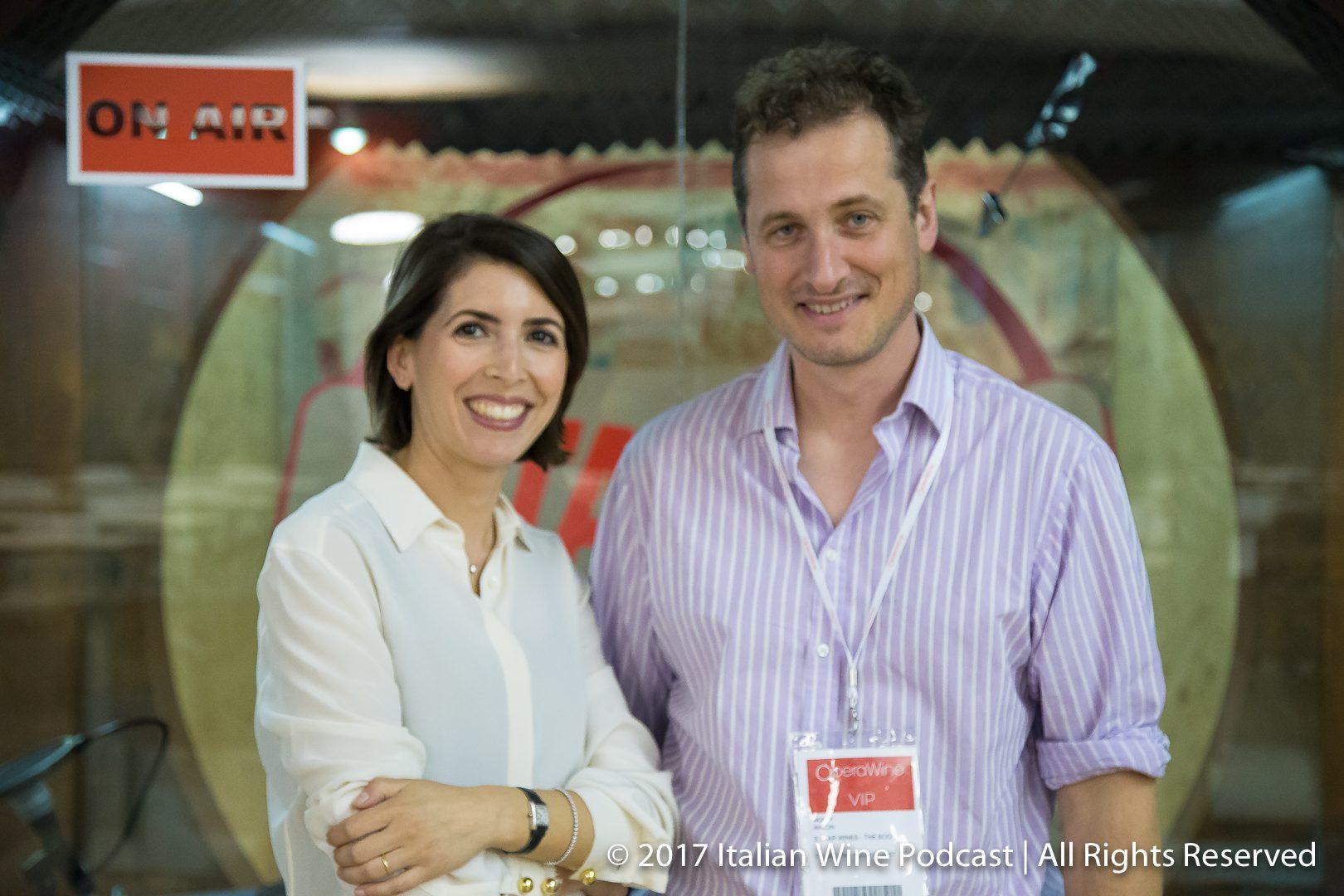 Valentina Argiolas with Monty Waldin